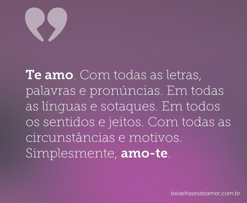 Belas Frases De Amor Pesquisa Google Belas Frases De Amor Love
