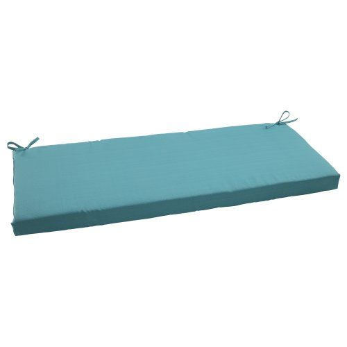 Pillow Perfect Indooroutdoor Forsyth Bench Cushion Turquoise Find Out More By Clicking The Image Bench Cushions Outdoor Bench Outdoor Cushions And Pillows