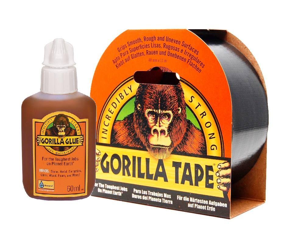 Gorilla Glue Original and Gorilla Tape are 100 waterproof