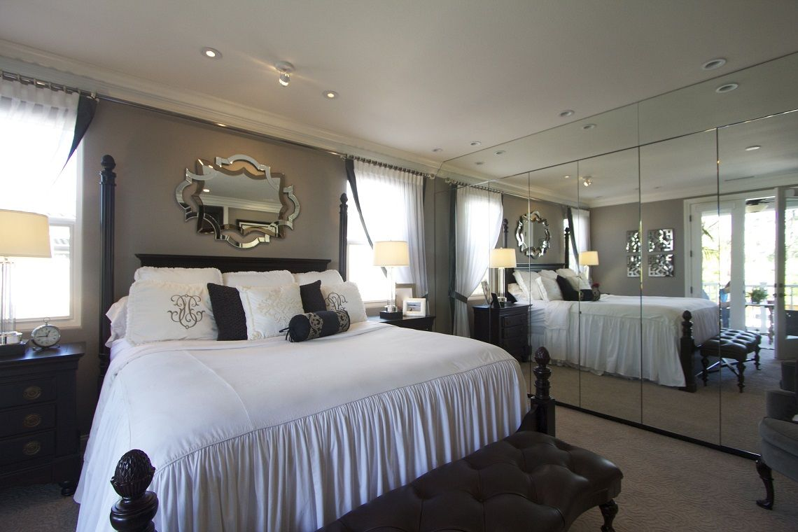 Stylish Bedroom Decor Fascinating Fixitfriday Master Bedroom Expansion She Moved The Windows Decorating Design