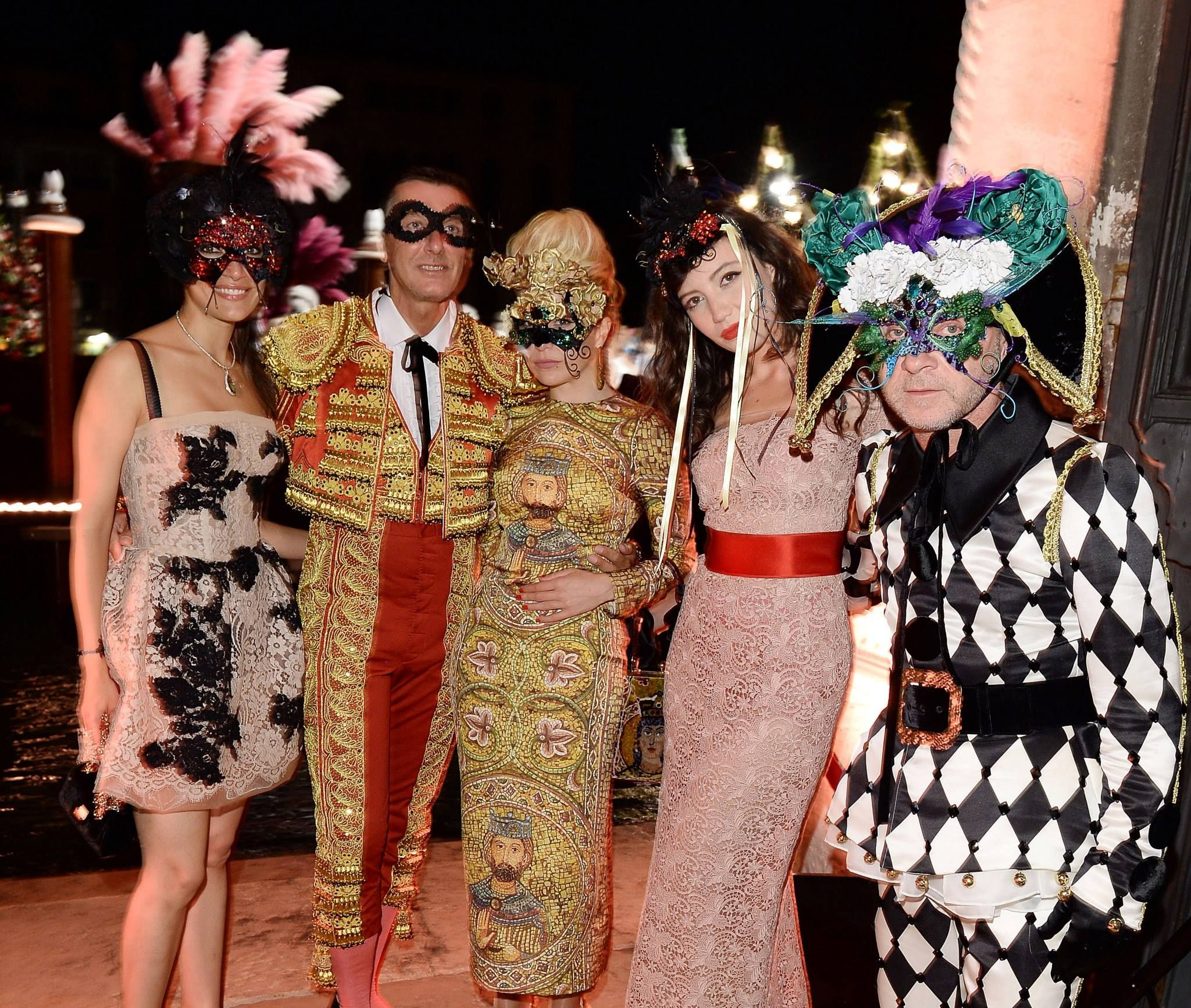 Venetian Style dolce masquerade ball in venetian style | fashionmention | news