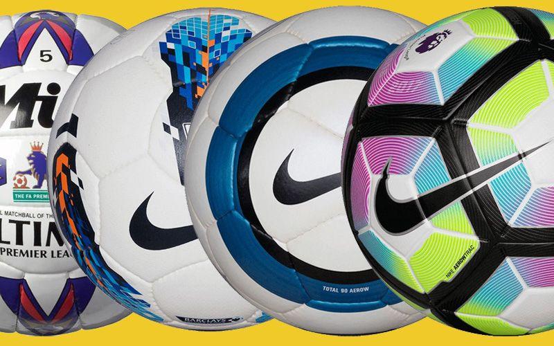 536bfa8676 Todas as bolas da história da Premier League