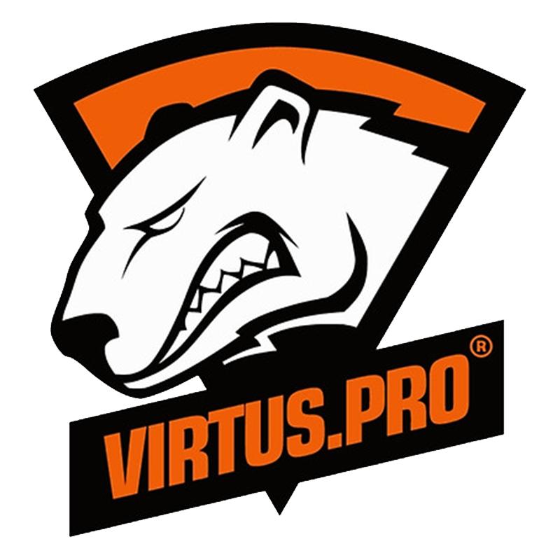 Virtus Pro Logo Esports Logotip Shablony Trafaretov Medved