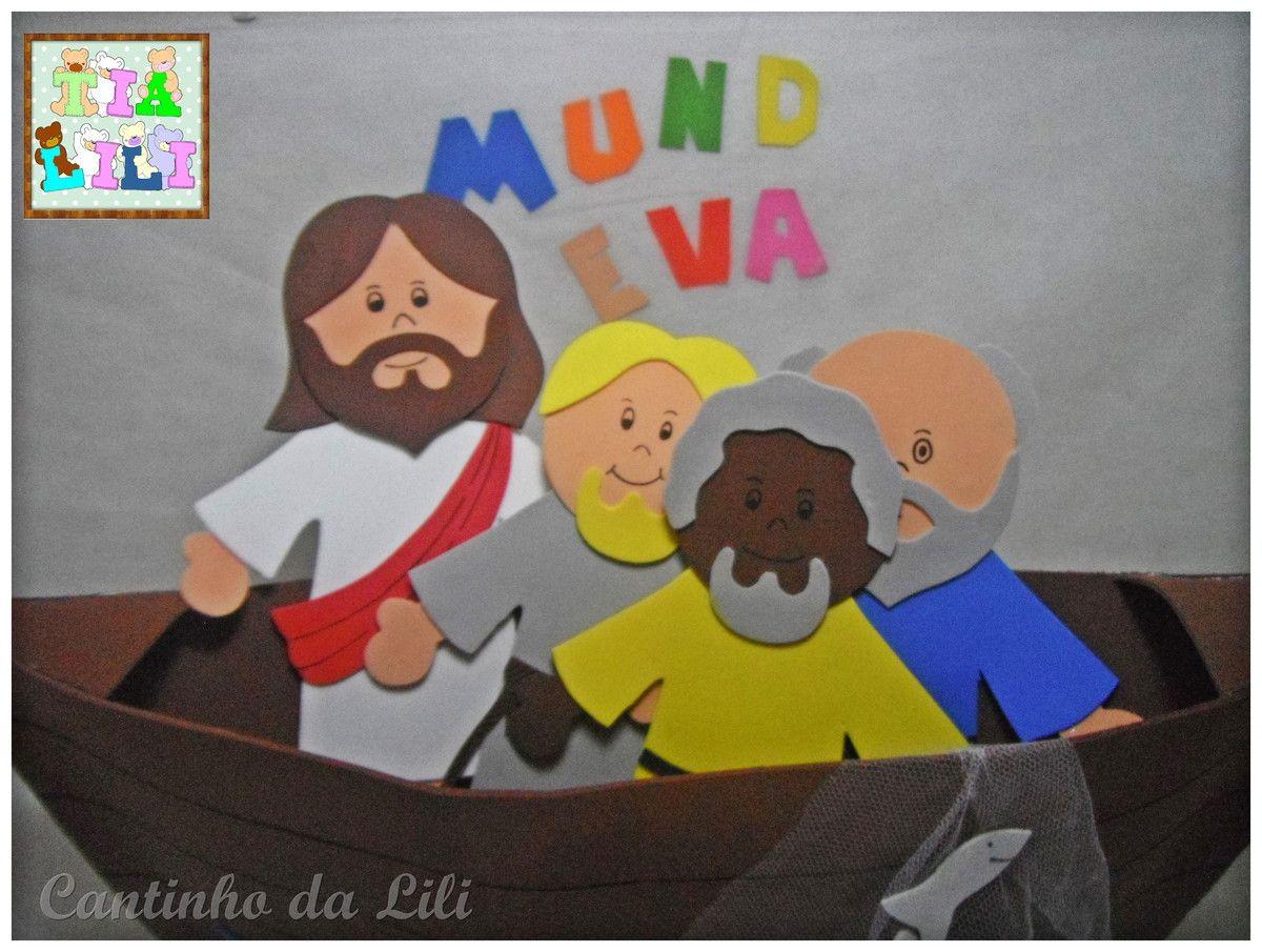 A Pesca Maravilhosa Pescaria Criancas Discipulos De Jesus
