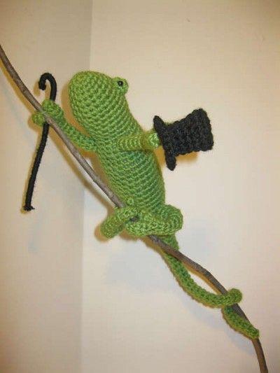Planetjune Crochet Chameleon Pattern Giveaway Winner Amigurumi