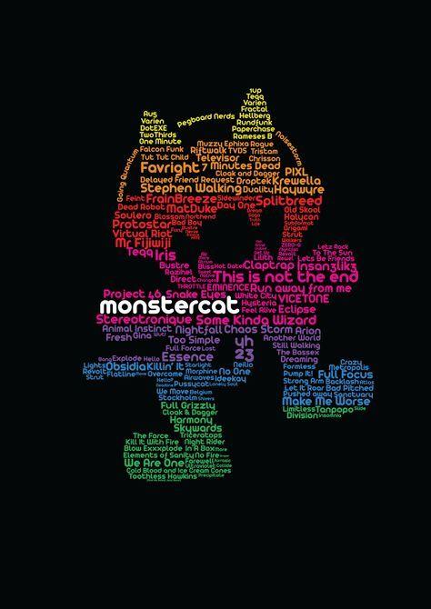 Do You Love Monstercat Lets Listen And Feel It Typography Nerd School
