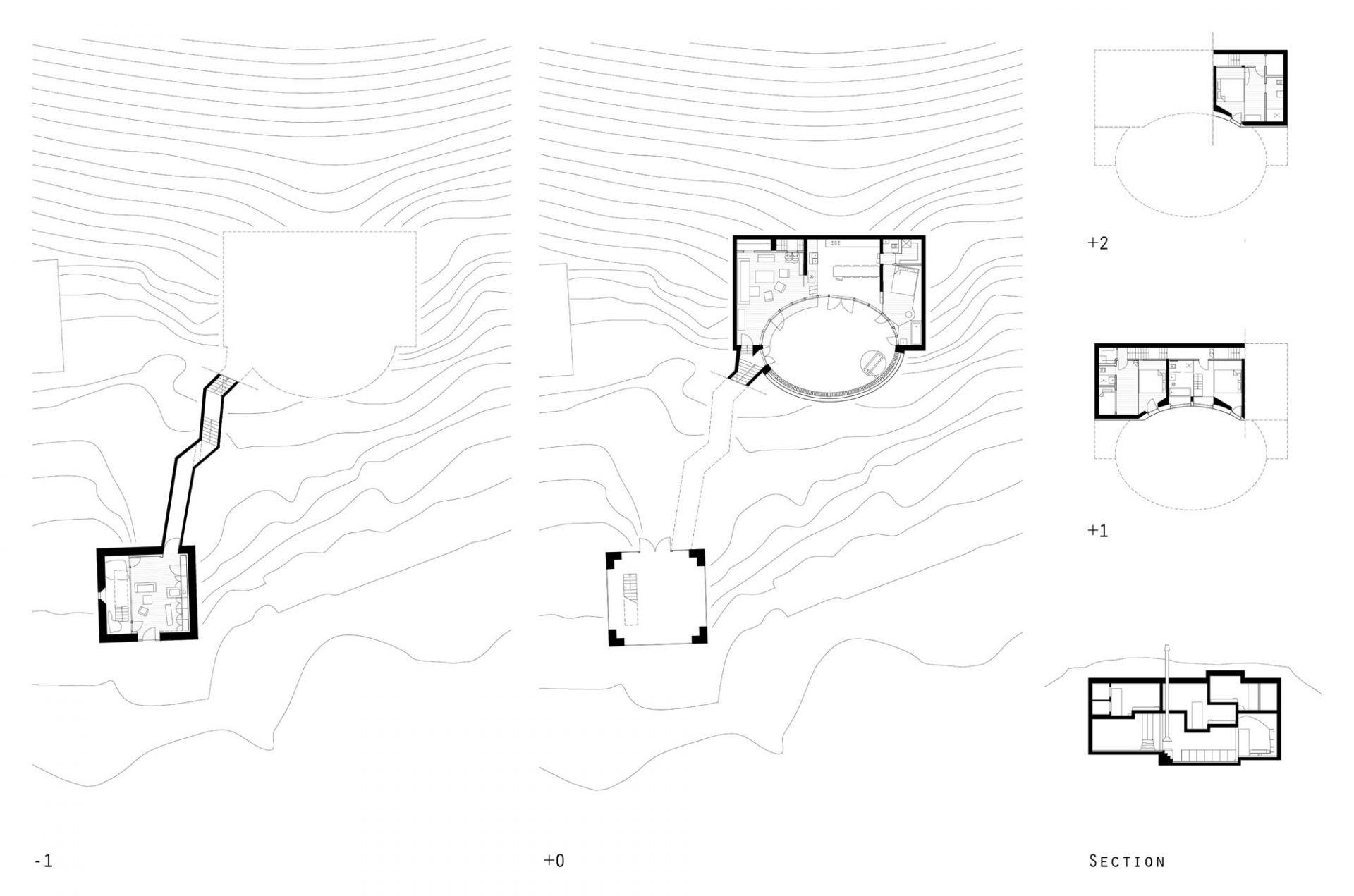 Villa Vals in Vals, Switzerland Designer: SeARCH, CMA