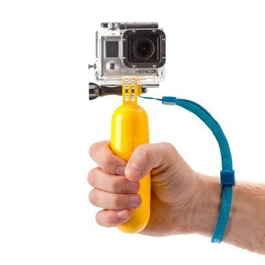 Gopole The Bobber Action Camera Accessory Yellow And