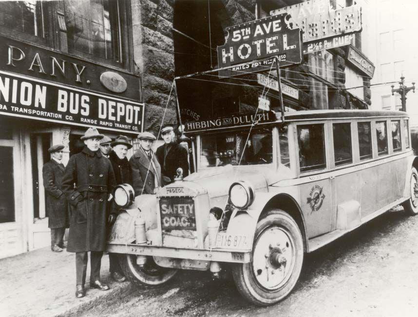 Greyhound centenary: a century on board the bus - Telegraph