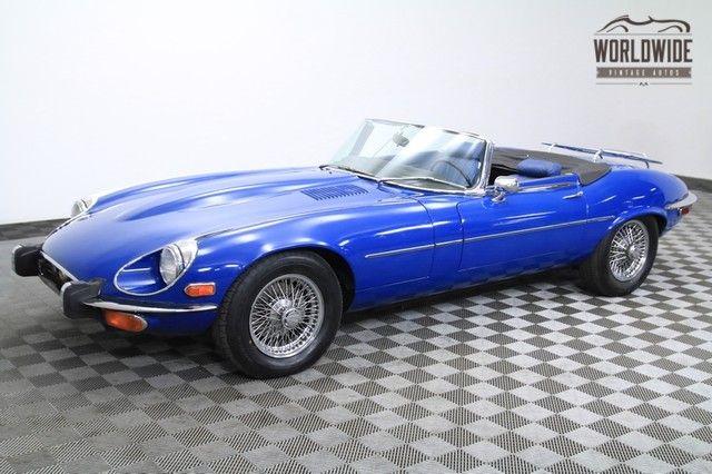 1973 Jaguar E Type Xke 12 Cylinder 2 Owner Very Low Miles Denver Colorado Worldwide Vintage Autos
