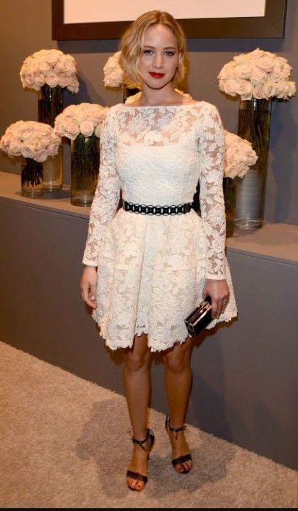 Jennifer -trop belle- | White long sleeve mini dress, Nice ...