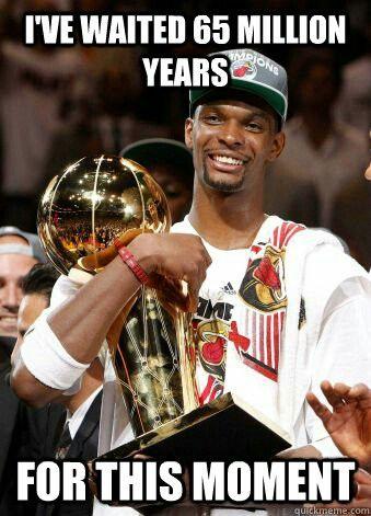 Nba Miami Heat Basketball Meme Funny Basketball Memes Chris Bosh Nba Funny