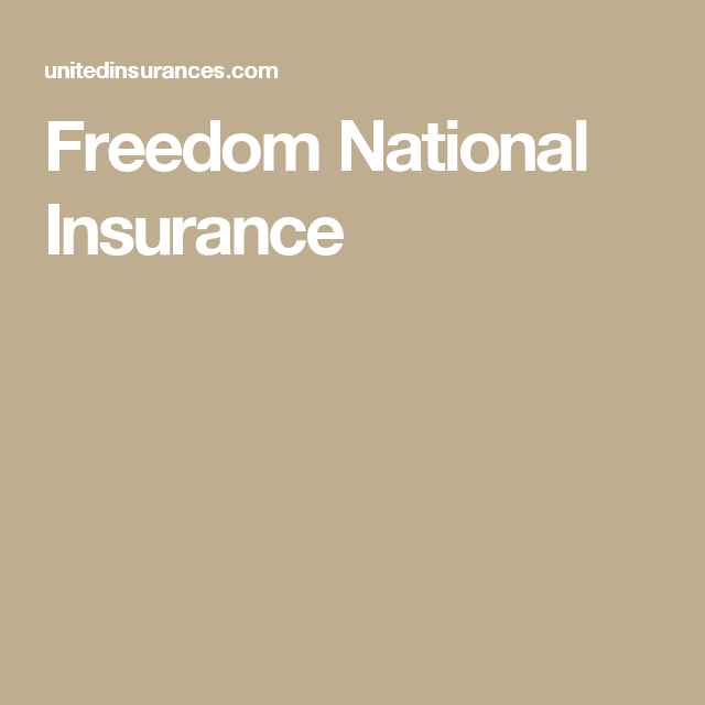 Freedom National Insurance Freedomnational