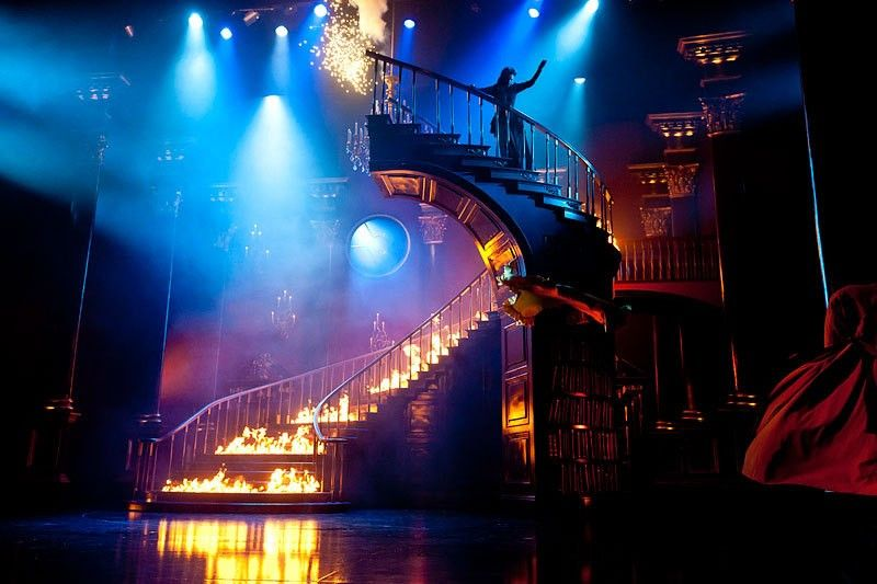 Pin By Mad On The Peace Of Manderley Musicals Rebecca Musical Stage Set Design