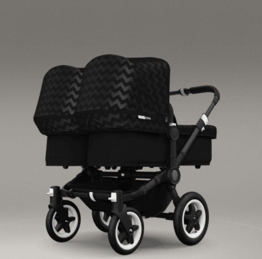 bugaboo donkey twin kinderwagen zwillingskinderwagen. Black Bedroom Furniture Sets. Home Design Ideas