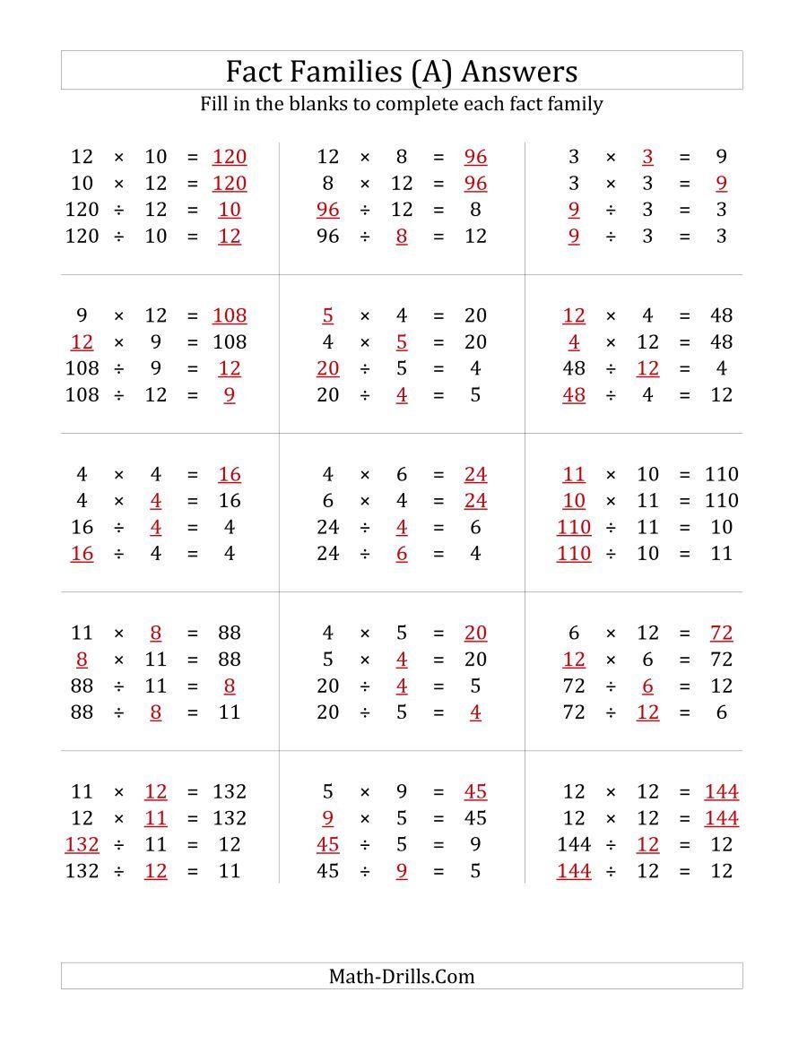 Natural multiplication and division worksheets Wonderful