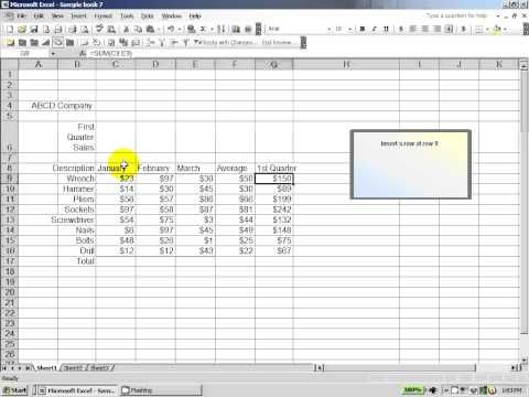 Excel 2003 How to score well on an excel assessment test Excel - excel assessment