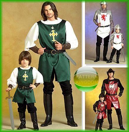 b5d5b091c03 Pattern Kingdom Mens Meval Renaissance Costume Patterns