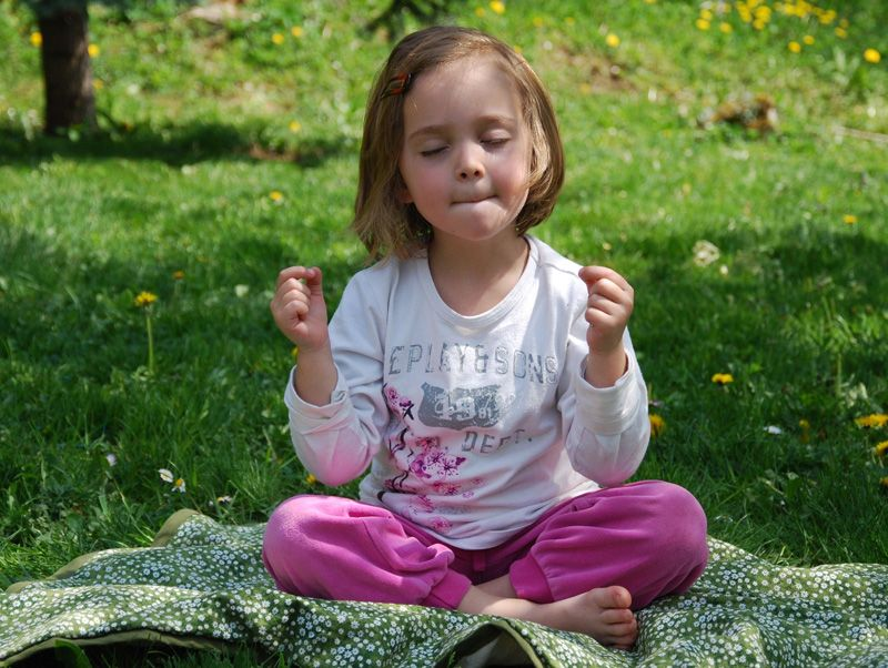 The Simple Fun of Yoga with Kids