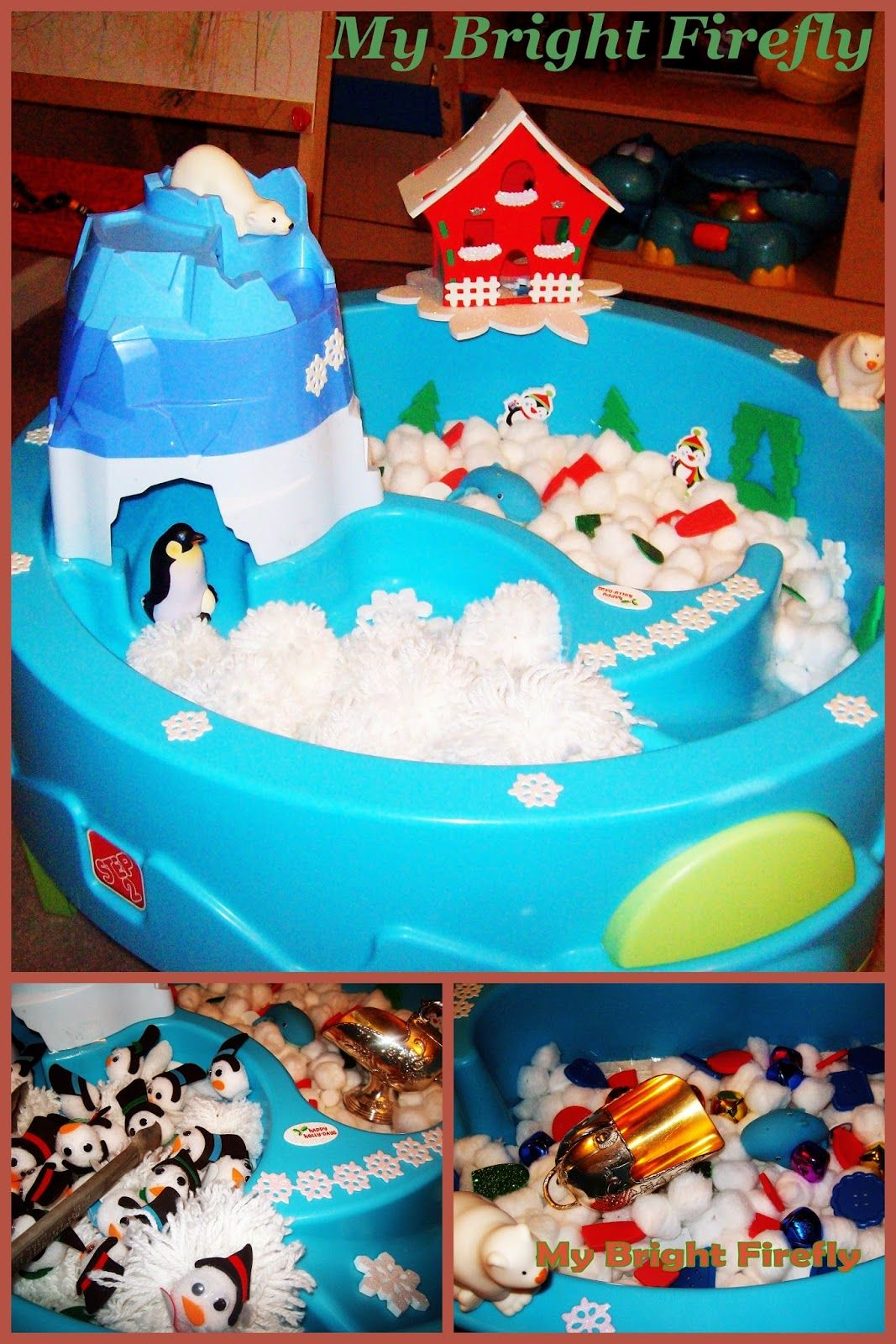 Christmas Sensory Bin Ideas for Toddlers