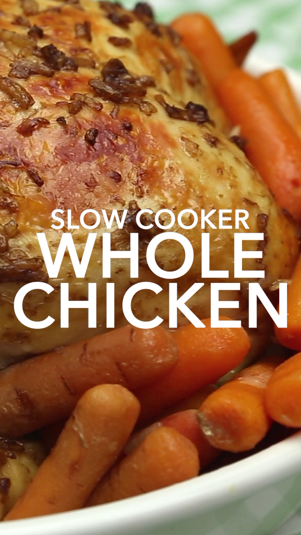 Slow Cooker Whole Chicken images