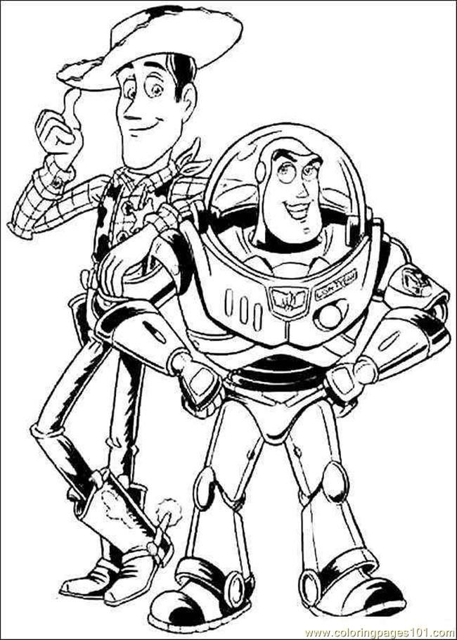 Free Printable Toy Story Coloring Pages For Kids Toy Story Coloring Pages Coloring Pages Disney Coloring Pages