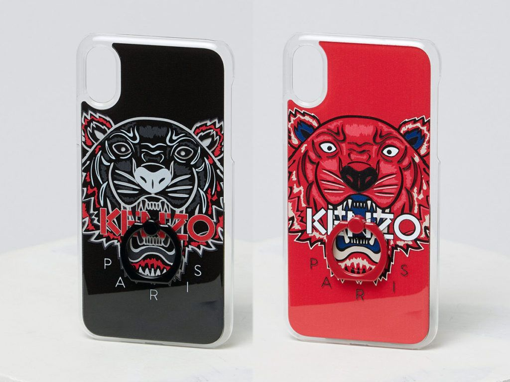 3737cc069c Kenzo 3D Tiger iPhoneX Case With Ring | Kenzo | Kenzo, Rings, Phone ...