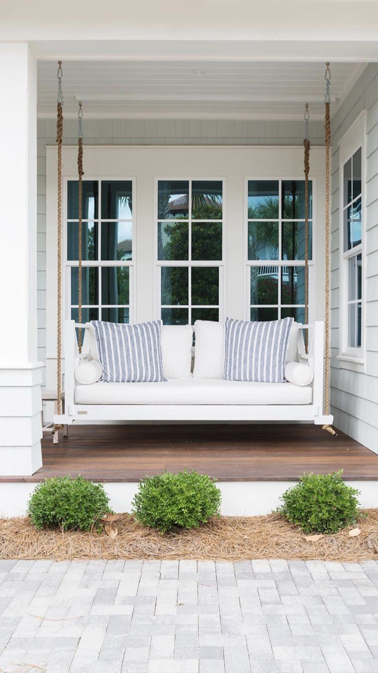 pin by tabitha morrow on h o m e front porch swing on porch swing ideas inspiration id=56084