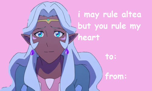 Timeofdeathnote Voltron Valentines Cards Please Like Reblog