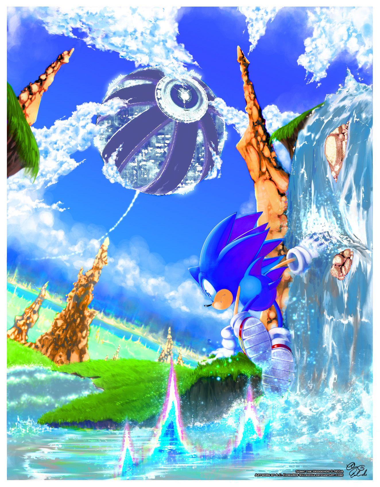 Sonic Boom Art Classic Sonic Sonic The Hedgehog Sonic