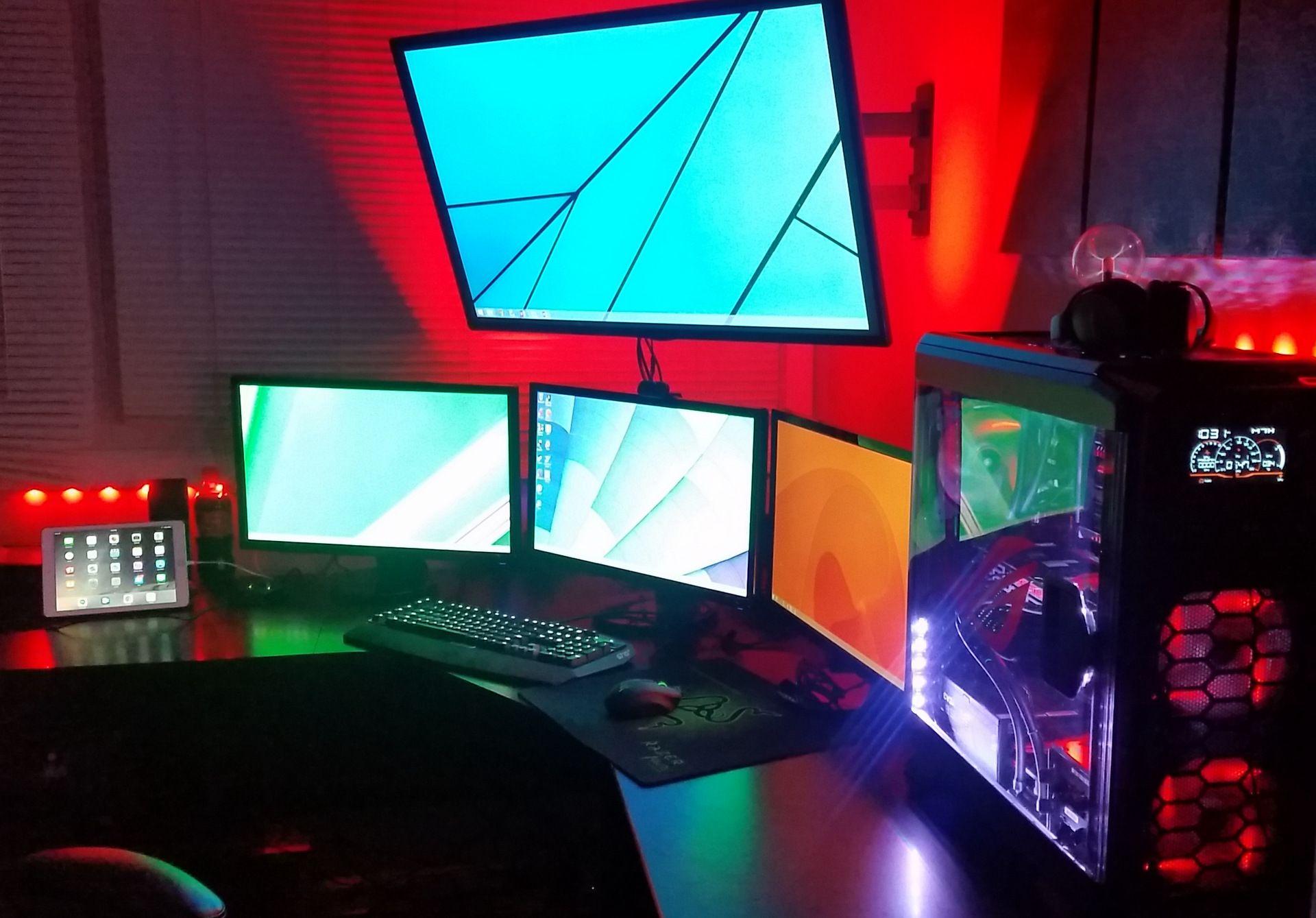 Setup de gaming epic pour les gamer sur pc computer québec