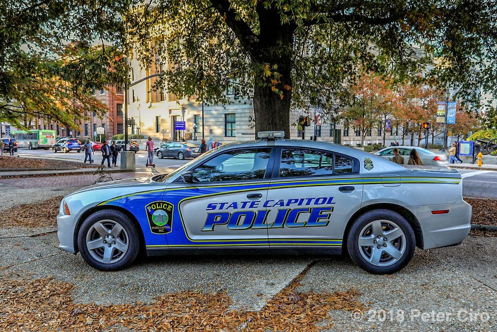 North Carolina State Capitol Police Car In Raleigh North Carolina Police Cars Police State Police