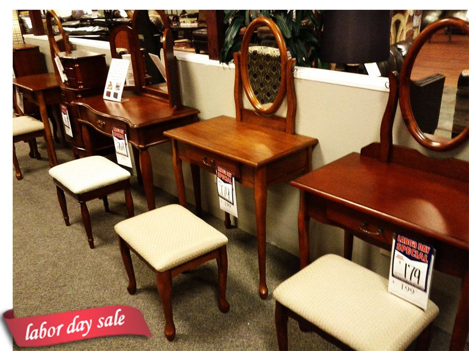 Where can you find a selection of vanities? Come to Taft