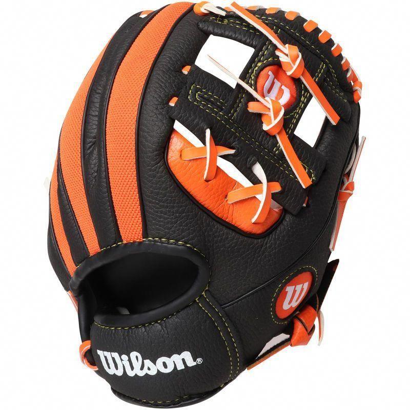Miami Marlins Wilson Youth Baseball Tee Ball Glove Youthbaseballgloves Youth Baseball Gloves Miami Marlins Baseball Baseball Helmet
