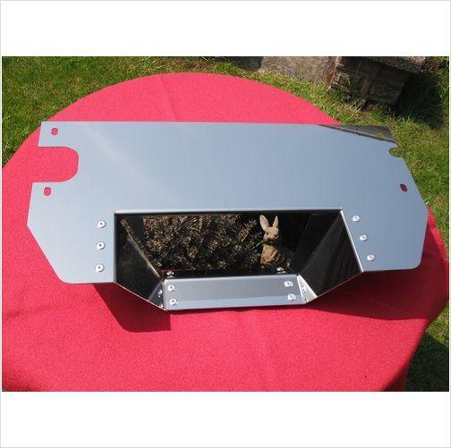 MGB Mirror Stainless Lower Engine/Radiator Splash Guard