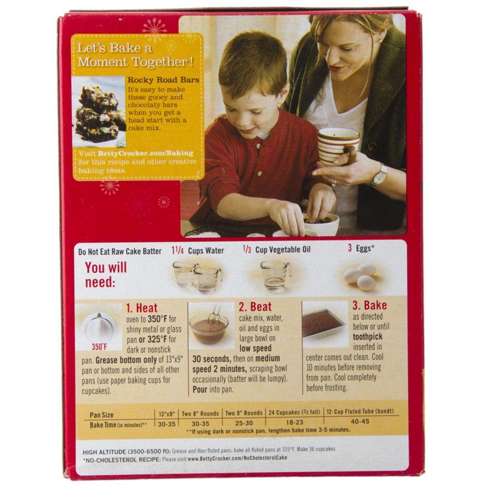Chocolate cake box mix recipes