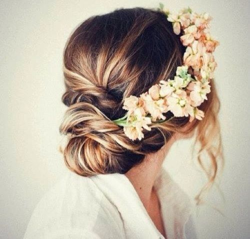 quinceanera hairstyles with flower crown , Google Search