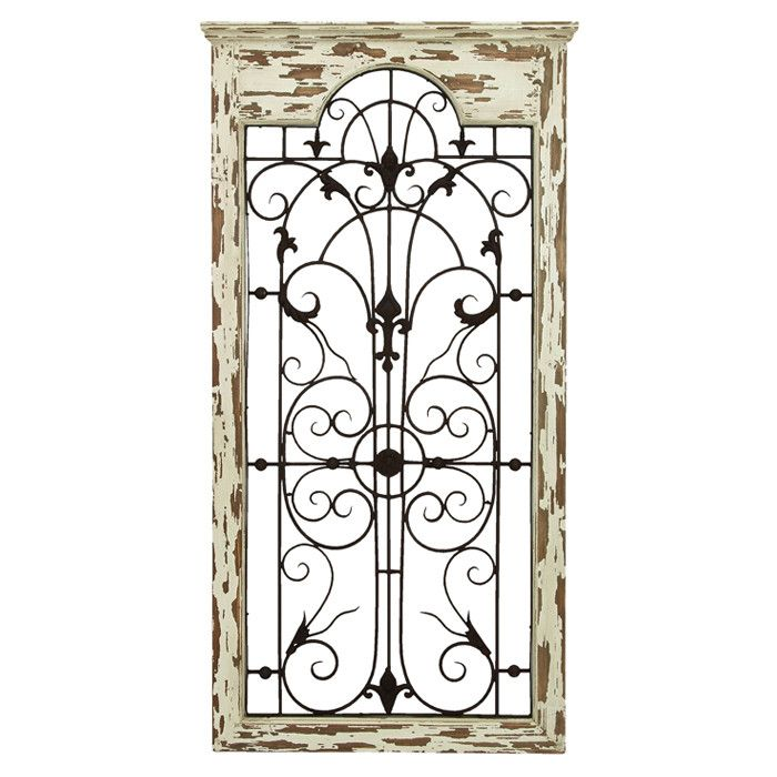 Iron Gate Wall Decor Gate Indooroutdoor Wall Decor  Indooroutdoor Decor And Design