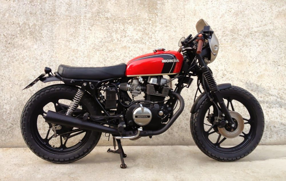 honda 80s cb 450n | moto | pinterest | honda and scrambler