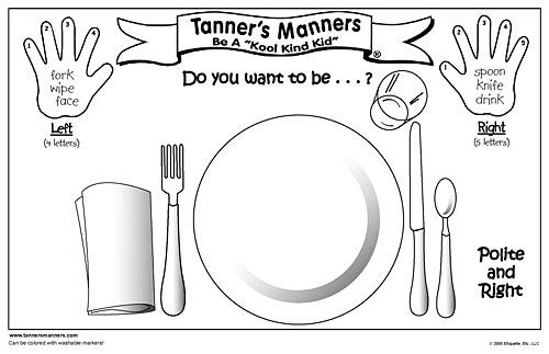 Manners Tea Party Manners Preschool Manners