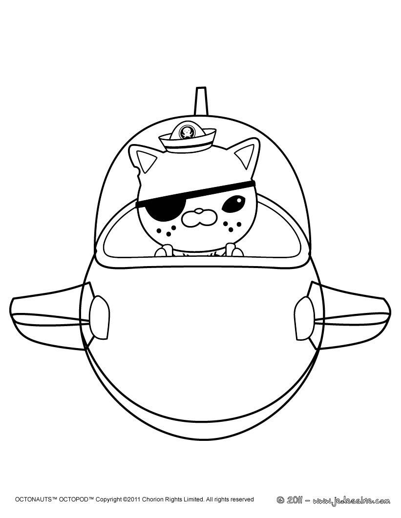 Images For U003e Octonauts Captain Barnacles Coloring Pages