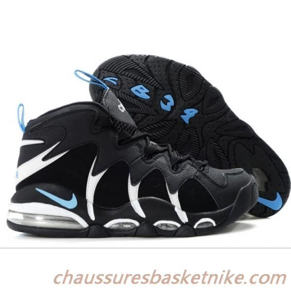 buy online 3e1bd e904f Nike Air Max CB 34 Charles Barkley Chaussures Hommes Noir   Blanc   Jade  Livraison Gratuite