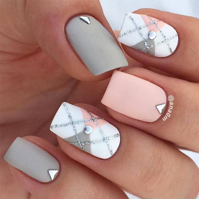 Matte nails are so pretty and elegant! If you are looking for nail designs… - Matte Nails Are So Pretty And Elegant! If You Are Looking For Nail