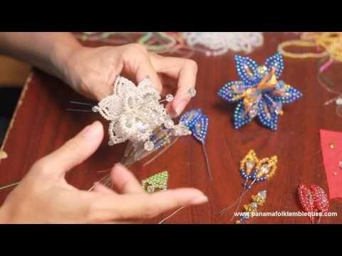 Como hacer Tembleques - Tapa Oreja de Colores - Parte 7 (final) - YouTube