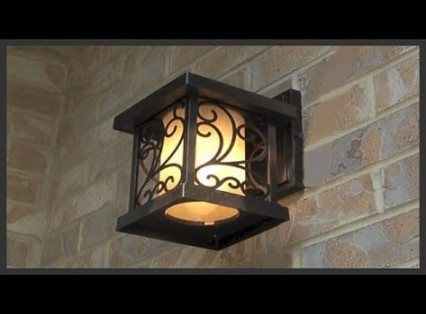Best Exterior House Lighting Fixtures Wall Mount 36 Ideas 400 x 300