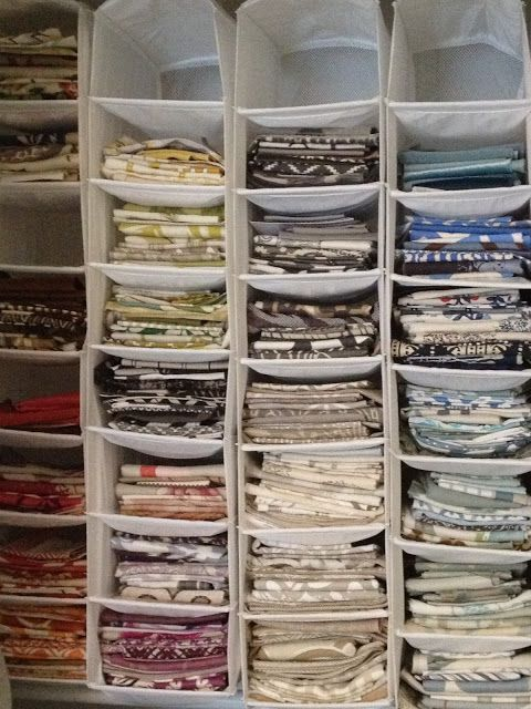 Photo of Idea for organizing bedding