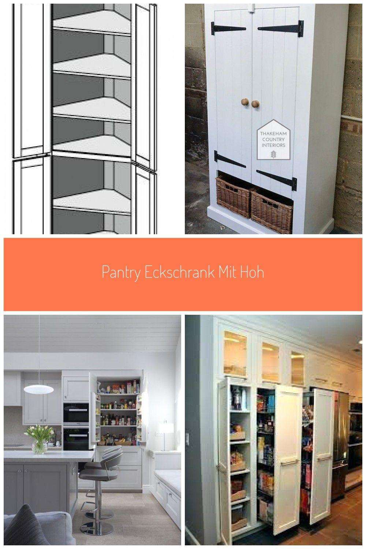 Pantry Eckschrank Mit Hoher Ecke Schrank Kche Kche Design Ideen