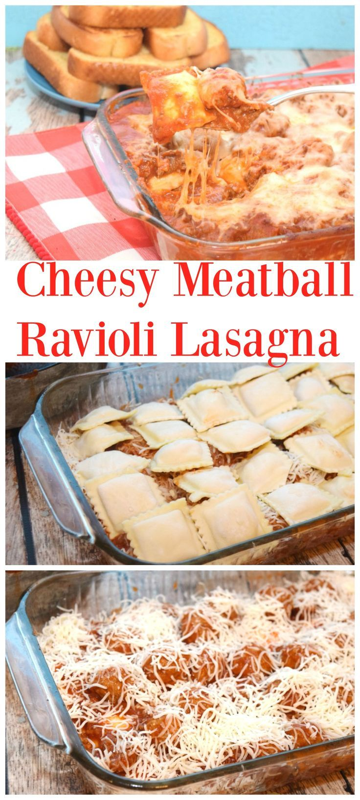 Need a great weeknight meal the family will love, but is easy to put together? Try my Cheesy Meatball Ravioli Lasagna for dinner - super easy & perfect for National Meatball Day next week on March 9th, 2017!   #ad #MeatballPerfection