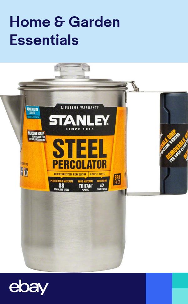 Stanley Cool Grip Camp Percolator 6 Cup