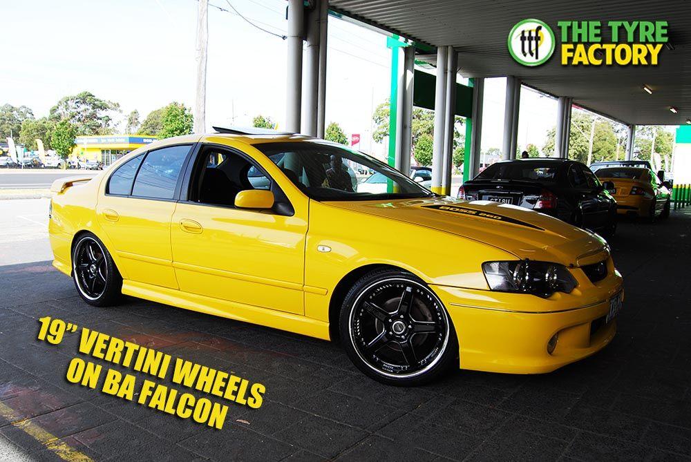 19 Vertini Wheels On Ba Falcon Http Ttf Com Au Buy Best Brands